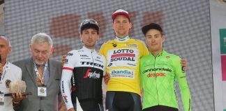 TODAYCYCLING - Tim Wellens s'adjuge le Tour de Pologne 2016. Photo : Lotto-Soudal Fan Page