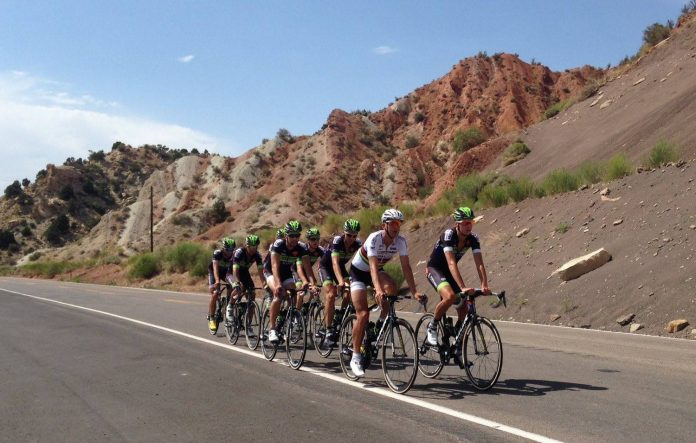 TODAYCYCLING - Fortuneo-Vital Concept prête pour le Tour de l'Utah. Photo : Fortuneo-Vital Concept/Twitter.