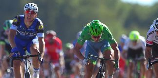 TODAYCYCLING - Marcel Kittel se défend d'avoir été gêné par Mark Cavendish. Photo : Etixx QuickStep