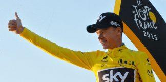 TTODAYCYCLING - Chris Froome et son maillot jaune du Tour de France - Photo: A.S.O.