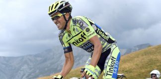 TODAYCYCLING - Alberto Contador reprendra la compétition sur la Clasica San Sebastian avant de s'engager sur la Vuelta qu'il compte remporter. Photo : Tinkoff.