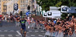 TODAYCYCLING - Alejandro Vamverde lors de sa victoire sur la Clasica San Sebastian 2014. Photo : Donostiako Klasikoa