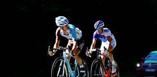 TODAYCYCLING - Alexis Vuillermoz à l'attaque sur la 15e étape du Tour de France 2016. Photo : ASO/B.Bade