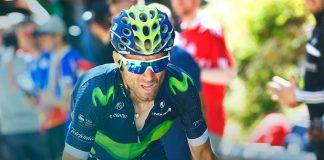 TODAYCYCLING - Alejandro Valverde sera le leader de l'équipe Movistar sur la Clasica San Sebastian. Photo : Movistar.