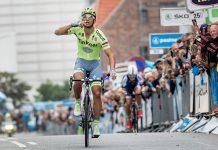 TODAYCYCLING - Daniele Bennati (Tinkoff) remporte la 1e étape du Tour du Danemark. Photo : PostNord Danmark Rundt