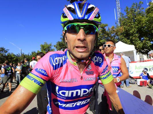 TODAYCYCLING - Diego Ulissi sera le leader de la formation Lampre-Merida sur la Clasica San Sebastian. Photo : Lampre-Merida.
