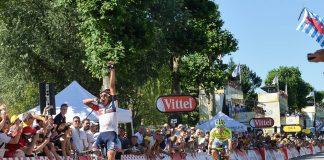 TODAYCYCLING - La belle histoire de Jarlinson Pantano qui s'impose à Culoz lors de la 15e étape du Tour de France 2016. Photo : ASO/G.Demouveaux