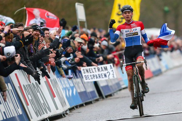 TODAYCYCLING - Mathieu van der Poel. Photo : Twitter