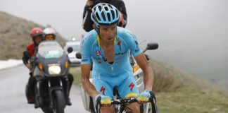 TODAYCYCLING - Michele Scarponi lors du Tour d'Italie 2016. Photo : Astana