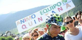 TODAYCYCLING - Nairo Quintana et ses supporters sur le Tour de France 2016. Photo : PresseSports/B.Papon