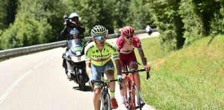 TODAYCYCLING - Rafal Majka mène la course lors de la 15e étape du Tour de France 2016. Photo : ASO/A.Broadway