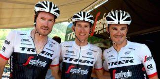 TODAYCYLING - Gregory Rast, Bauke Mollema et Markel Irizar ont prolongé de deux ans leur contrat. Photo : Trek-Segafredo