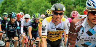 TODAYCYCLING - Robert Wagner sur les routes du Tour de France 2016. Photo : LottoNL-Jumbo