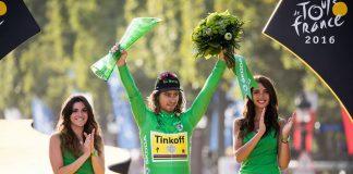 TODAYCYCLING - Pour la cinquième année consécutive, Peter Sagan ramène le maillot vert à Paris. Photo : ASO/Beardy McBeard