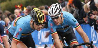 TODAYCYCLING - Tom Boonen et Philippe Gilbert ; futurs coéquipiers ? Photo : Tim De Waele.
