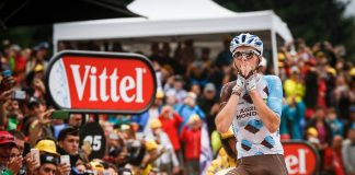TODAYCYLING - Romain Bardet remporte la première victoire française sur le Tour de France 2016 à l'occasion de la 19e étape. Photo : ASO