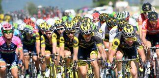 TODAYCYCLING - Le Team Direct Energie mise tout pour Bryan Coquard pour les sprints. Photo : Direct Energie