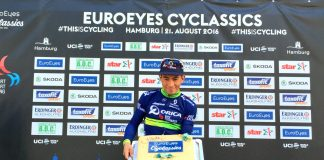 TODAYCYCLING - Caleb Ewan remporte la EuroEyes Cyclassics. Photo : Twitter