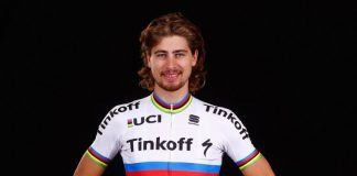 TODAYCYCLING - Peter Sagan, champion du monde sur route, débutera sa saion 2017 par le Tour Down Under. Photo : Tinkoff