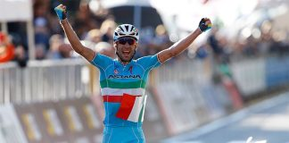 TODAYCYCLING - Vincenzo Nibali lauréat du Tour de Lombardie 2015. Photo : Astana.