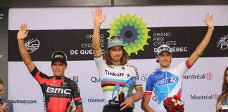 TODAYCYCLING - Un champion du monde, un champion olympique et un champion français sur le podium. Photo : Tinkoff