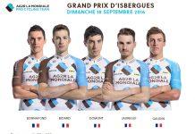 TODAYCYCLING - Le leader de la Coupe de France PMU, Samuel Dumoulin, sera absent du GP d'Isbergues, au profit des Championnats d'Europe à Plumelec. Photo : Ag2r La Mondiale