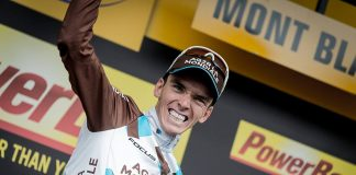 TODAYCYCLING - Romain Bardet auteur d'un succès retentissant sur le Tour 2016. Photo : Romain Bardet