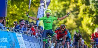 TODAYCYCLING - La victoire de Jack Bauer sur le Tour de Grande-Bretagne. Photo : TourofBritain