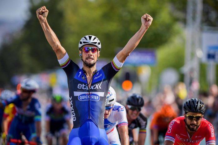 TODAYCYCLING - La victoire de Tom Boonen sur la Brussels Classic. Photo : Etixx-Quick Step