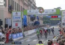 TODAYCYCLING - Comme l'an passé, c'est un coureur italien qui s'impose sur cette épreuve classée en Hors-Catégorie. Colbrelli succède à Nibali. Photo : D.R