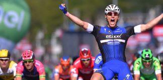 TODAYCYCLING - En s'imposant sur le GP de Fourmies, Marcel Kittel a signé son 72e succès depuis 2008 (débuts pro) et sa 12e victoire de la saison 2016. Photo : Etixx Quickstep TDW