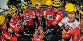 TODAYCYCLING - La formation Lotto Soudal sur le Tour de France. Photo : Lotto Soudal