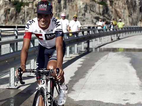 TODAYCYCLING - Derniers tours de roues avec IAM pour Jarlinson Pantano. Photo : Pantano