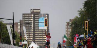 TODAYCYCLING - Tim Wellens remporte, sous la pluie, le Grand Prix de Montréal 2015. Photo : Grands Prix Cyclistes