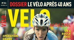TODAYCYCLING - Romain bardet, 2e du Tour de France a les honneurs de la rédaction de Vélo Mag, avec une belle couverture. Photo : D.R