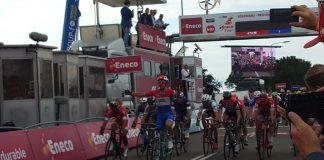 TODAYCYCLING - Dylan Groenewegen s'impose sur la première étape de l'Eneco Tour 2016. Photo : @EnecoTour