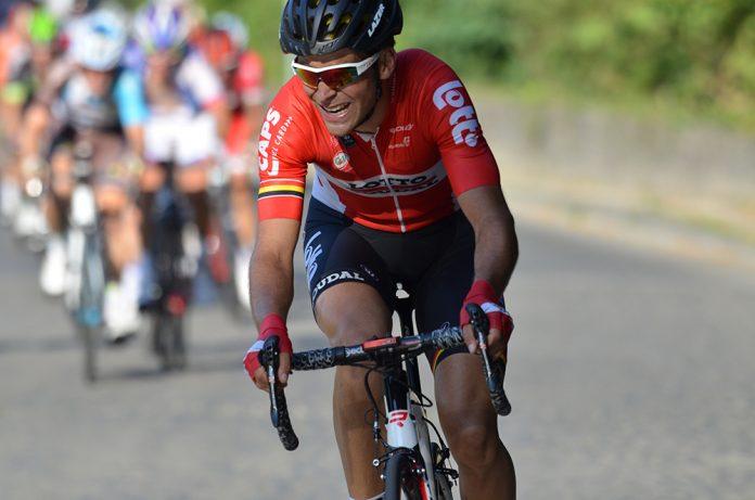 TODAYCYCLING - Tony Gallopin file vers la victoire au GP de Wallonie. Photo : Laetitia Lambreghts
