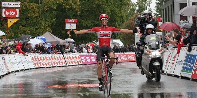 TODAYCYCLING - Jens Debusschere remporte le GP de Wallonie 2015. Photo : TRW Organisation/GP de Wallonie