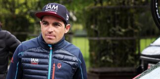 TODAYCYCLING - Oliver Zaugg a réalisé sa dernière saison professionnelle au sein de l'équipe IAM Cycling. Photo : IAM Cycling