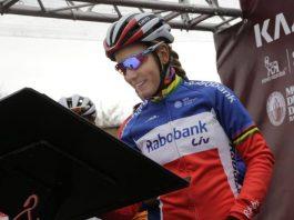 Pauline Ferrand-Prevot gêné par des douleurs
