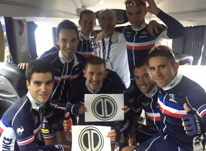 Championnats d'Europe de cyclisme avec l'équipe de France