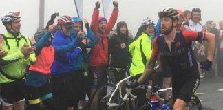 TODAYCYCLING - Bradley Wiggins se moque de Chris Froome sur le dernier Tour of Britain (Source : Instagram @leeblack321)