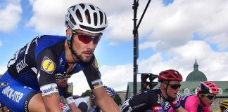 TODAYCYCLING - Tom Boonen contraint à l'abandon sur l'Eneco Tour 2016. Photo : TDWsport/Etixx-Quick Step