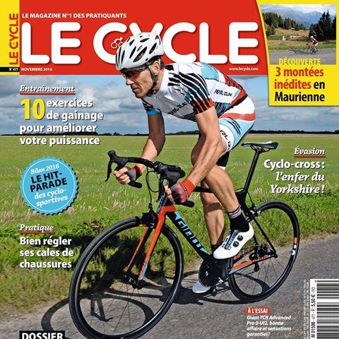 TODAYCYCLING - Le magazine Le Cycle de novembre est déjà passé à l'heure d'hiver. Photo : D.R