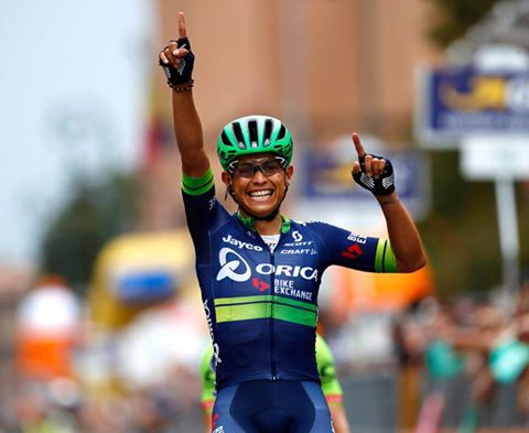 TODAYCYCLING - Esteban Chaves remporte le Tour de Lombardie. Photo : Orica BikeExchange