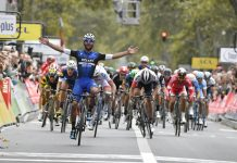TODAYCYCLING - Fernando Gaviria. vainqueur de Paris-Tours 2016. Photo : B.Bade/Paris-Tours
