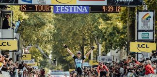 TODAYCYCLING - Matteo Trentin vainqueur de Paris-Tours 2015. Photo : ASO/P.Ballet