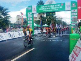 TODAYCYCLING - Comme la veille, c'est à nouveau le jeune sprinter Allemand, Max Walscheid (Giant Alpecin) qui s'est imposé. Photo : D.R