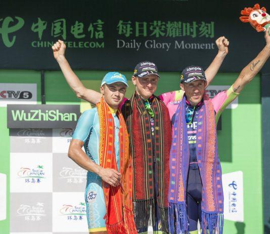 TODAYCYCLING - En s'imposant sur l'étape reine du Tour of Hainan, l'ancien champion du monde des U23 a signé son tout premier succès pro. Photo : D.R