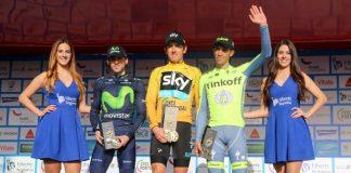 TODAYCYCLING - Pour l'heure, la Team Sky et Geraint Thomas n'ont pas encore validé leur participation à l'épreuve par étape portugaise dont ils sont les derniers vainqueurs. Photo : Volta ao Algarve